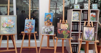 Wystawa obrazów kwiatów 31.05.2019