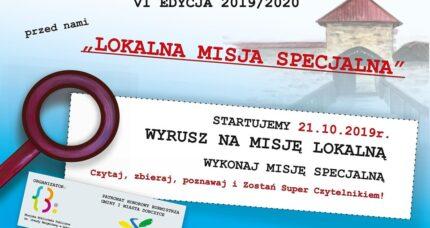 VI Edycja 2019/2020 LOKALNA MISJA SPECJALNA