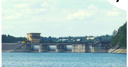 7. Jezioro Dobczyckie – siódma naklejka