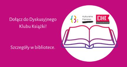 Dyskusyjny Klub Książki rusza!