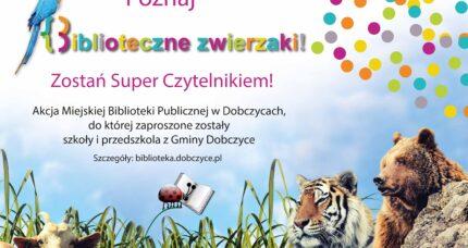 IV Edycja 2017/2018 POZNAJ BIBLIOTECZNE ZWIERZAKI