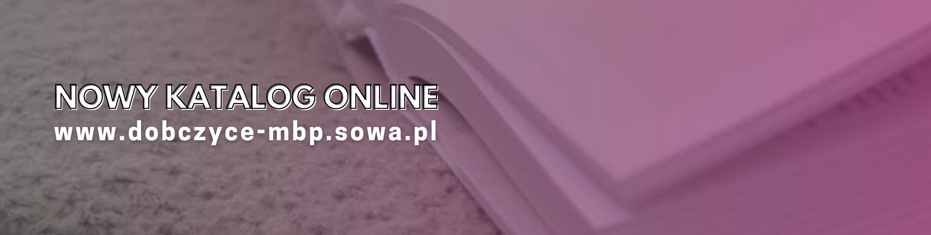 Baner: Nowy katalog online